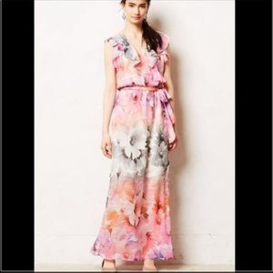 NWT! Anthropologie HD in París Maxi Dress Size 0